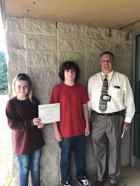 Pleasant View Jr. High Students of the Week